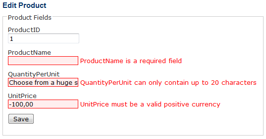 ASP.NET MVC 2 - Validation with Data Annotations